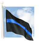 Thin Blue Line 3'x5' nylon outdoor flag