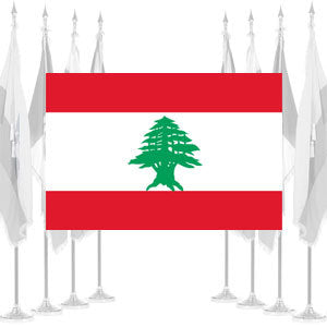 Lebanon Ceremonial Flags