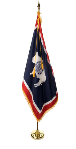 Wyoming Ceremonial Flags and Sets
