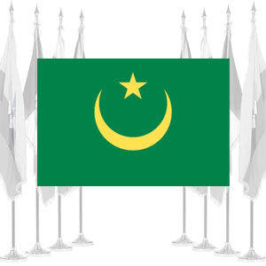 Mauritania Ceremonial Flags
