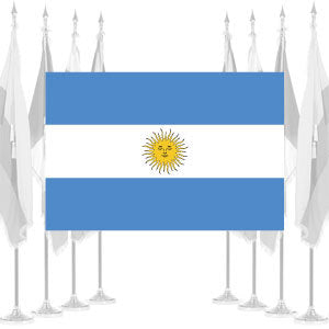 Argentina Government Ceremonial Flags