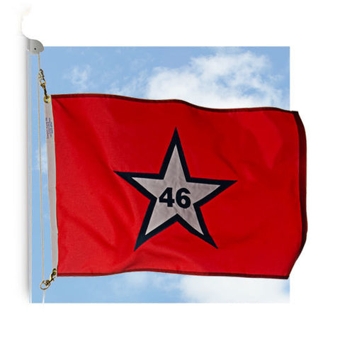 First Oklahoma Outdoor Historic Flags