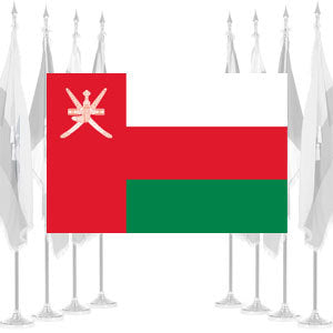 Oman Ceremonial Flags