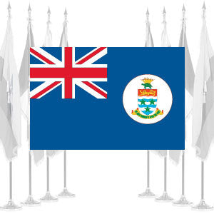 Cayman Islands Ceremonial Flags