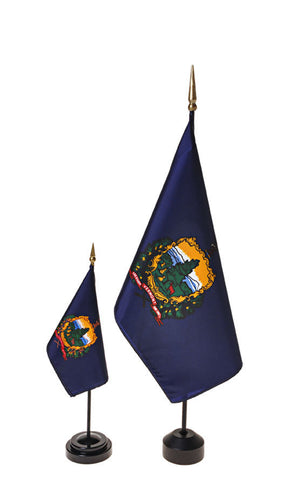Vermont Small Flags