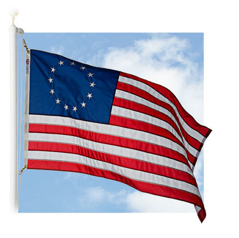Betsy Ross Outdoor Historic Flags