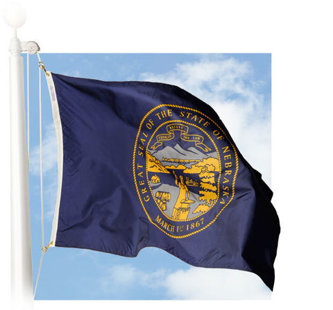 Nebraska Outdoor Flags