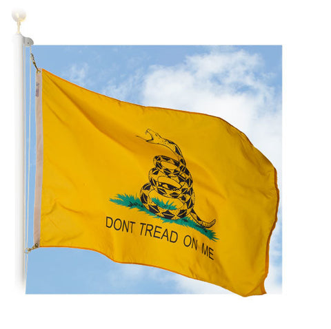 Gadsden Outdoor Historic Flags