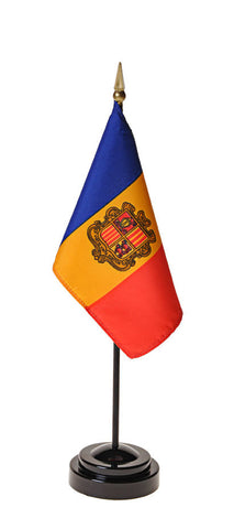 Andorra Government Small Flags