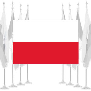 Poland Ceremonial Flags