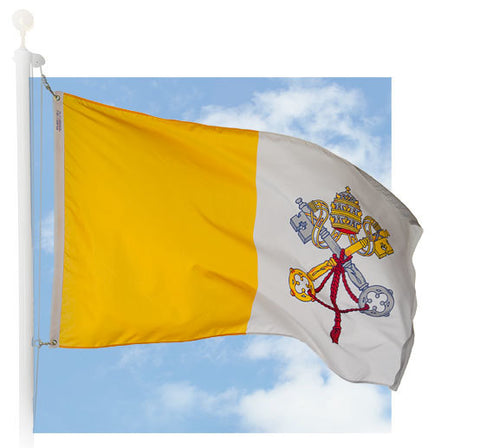 Papal Outdoor Flags