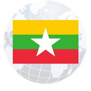 Myanmar (Burma) Outdoor Flags