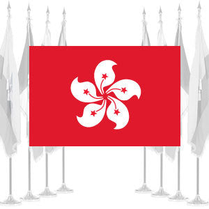 Hong Kong Ceremonial Flags