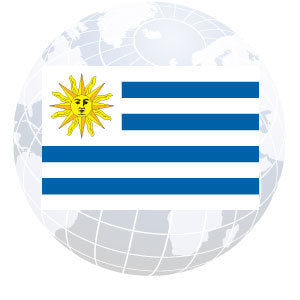 Uruguay Outdoor Flags