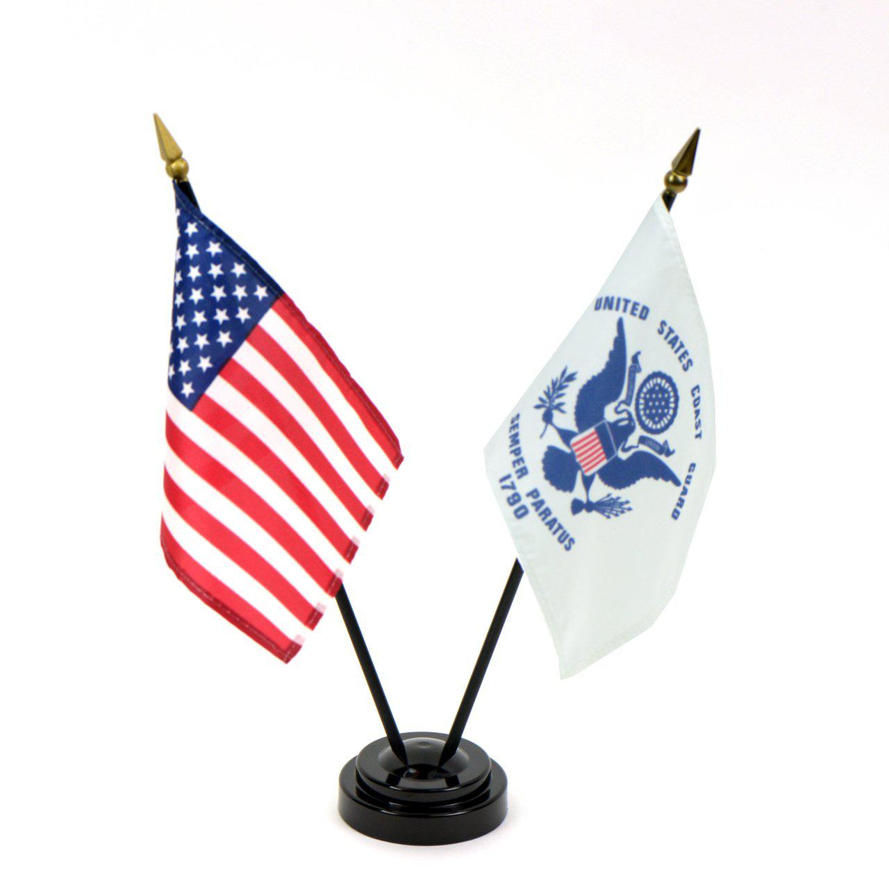 Military Ceremonial Flags Set of 5 with poles – LibertyFlags com