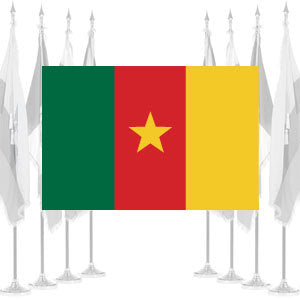 Cameroon Ceremonial Flags