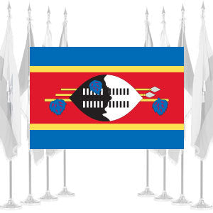 Swaziland Ceremonial Flags