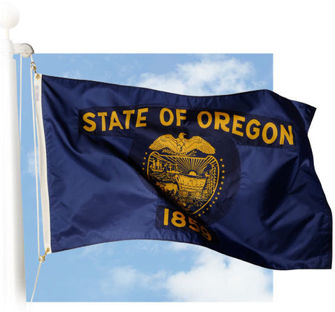 Oregon Outdoor Flags