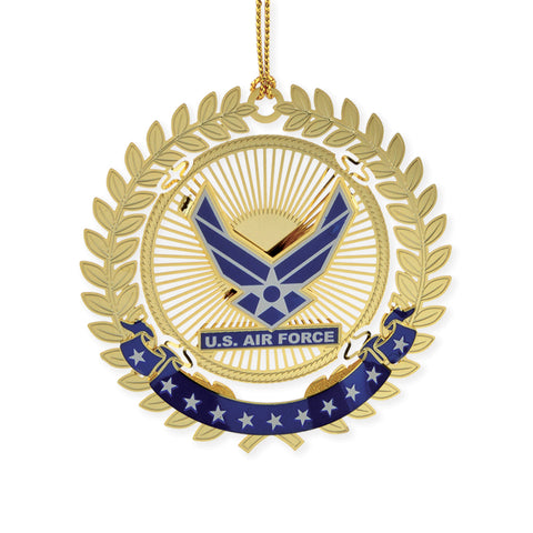 Air Force Filigree Ornament