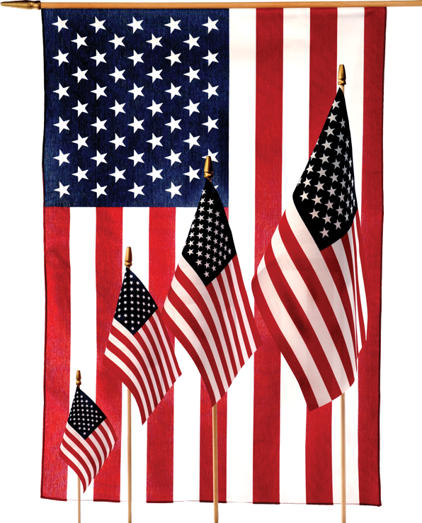 American Stick Flags from LIBERTY FLAGS, The American Wave®