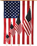 Economy American Stick Flags