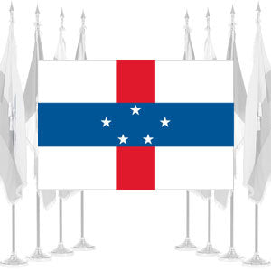 Netherland Antilles Ceremonial Flags