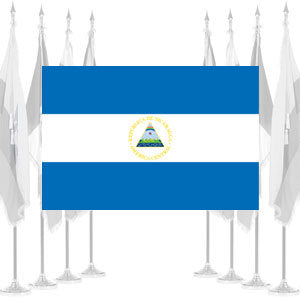 Nicaragua Government Ceremonial Flags