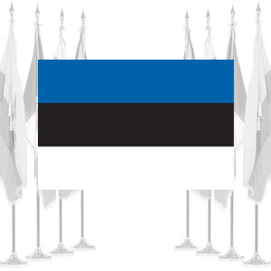 Estonia Ceremonial Flags