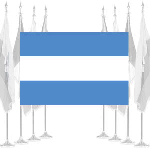 Argentina Civil Ceremonial Flags