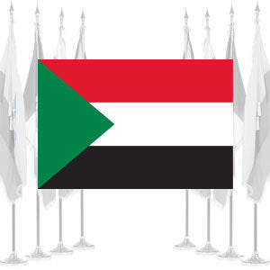 Sudan Ceremonial Flags