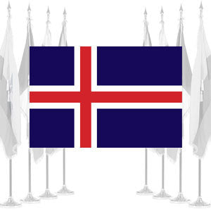 Iceland Ceremonial Flags
