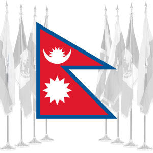 Nepal Ceremonial Flags