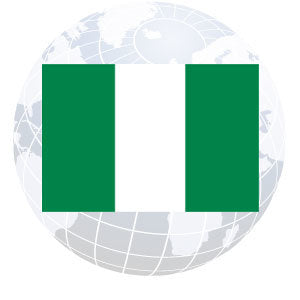 Nigeria Outdoor Flags