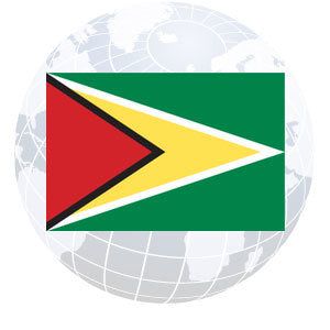 Guyana Outdoor Flags