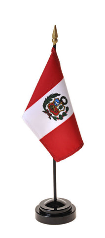 Peru Government Small Flags
