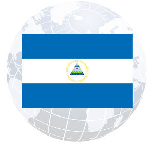 Nicaragua Government Outdoor Flags
