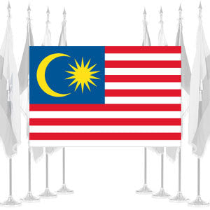 Malaysia Ceremonial Flags