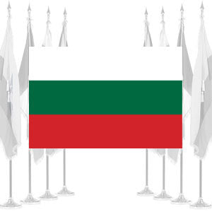 Bulgaria Ceremonial Flags
