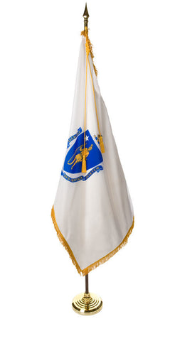 Massachusetts Ceremonial Flags and Sets
