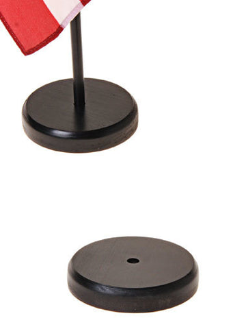 "Wood Display Bases for 12""x18"" Flags with 30""x3/8"" Staffs"