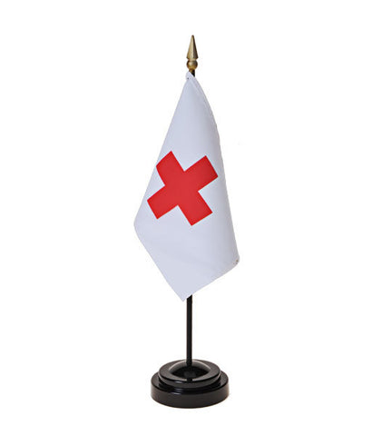American Red Cross Small Flags