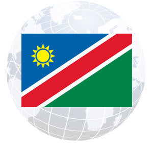 Namibia Outdoor Flags
