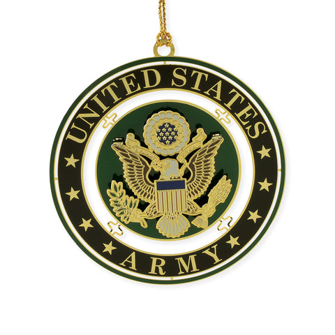 Army Seal Ornament