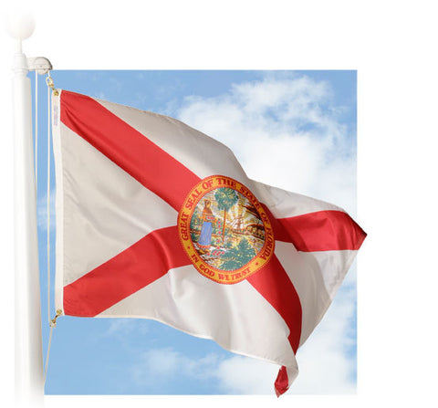 Florida Outdoor Flags