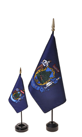 Maine Small Flags