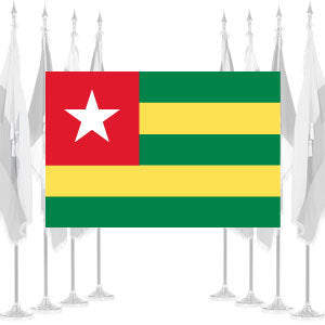 Togo Ceremonial Flags
