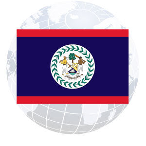 Belize Outdoor Flags