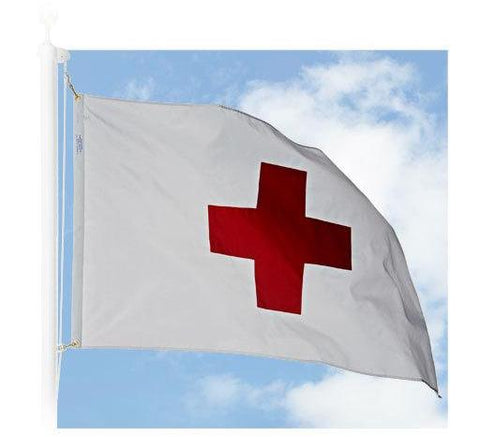 American Red Cross Outdoor Flags