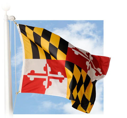 Maryland Outdoor Flags