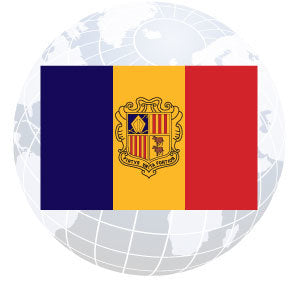 Andorra Government Outdoor Flags
